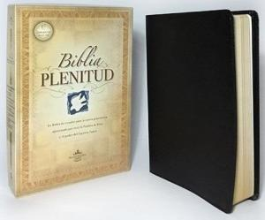 Biblia Plenitud, NVI, Stort format, svart, mjukt band, 1350 gr (240 x 165 x 35 mm)