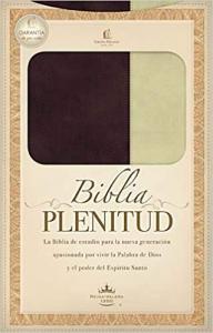 Biblia RVR 1960 De estudio. Biblia Plenitud. Stort format.