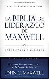 Biblia RVR 1960 De liderazgo. Stort format, hård pärm.