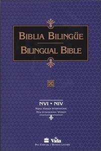 Biblia, NVI, Santa biblia bilingual bible, mjukt band, stort format