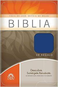 """Biblia, NBD, Biblia de Regalo, """"Facil de Leer Dificil de dejar! mellanstorlek, mjuk pärm."""