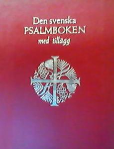 Svenska psalmboken, liten röd, kassett, mjukband