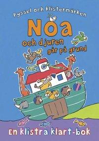 Noa och djuren går på grund - en klistra klart-bok