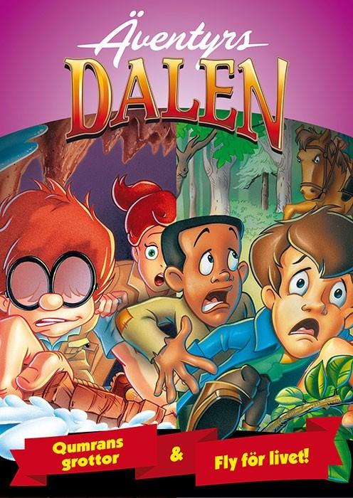 Äventyrs Dalen (8): Qumrans grottor & Fly för livet
