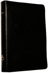Bibel 2000, svart skinn, guldsnitt, 210x155x40