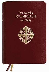 Den svenska psalmboken med tillägg, skinn med guldkant
