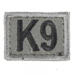 K9 märke, litet, m kardborreband -12