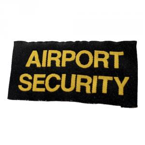 Airport Security vävd