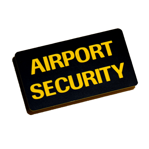 Airport Security Skylt
