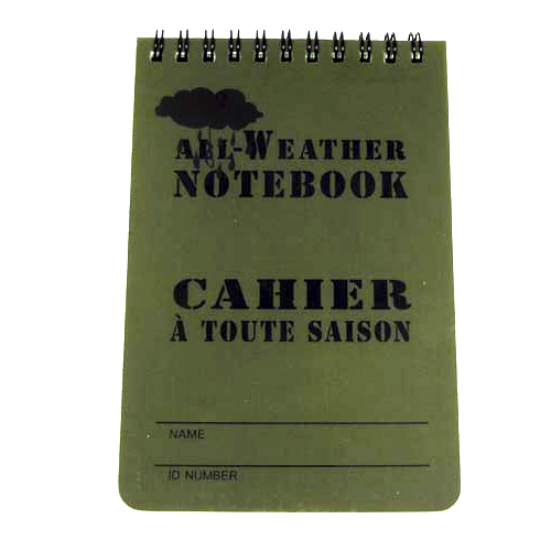 All Weather Notebook Liten