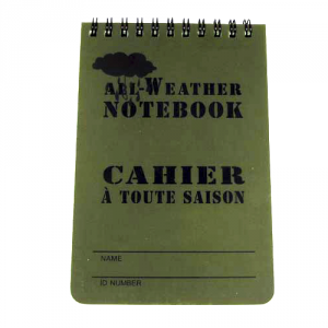 All Weather Notebook Stor