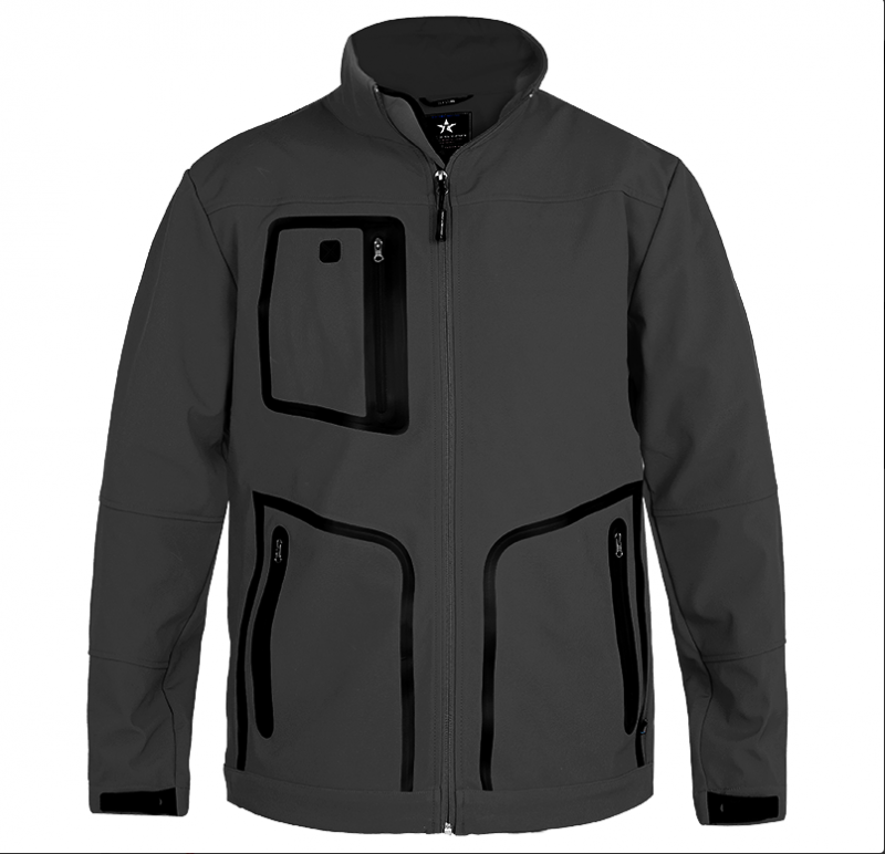 FJ30 City Softshell, Svart