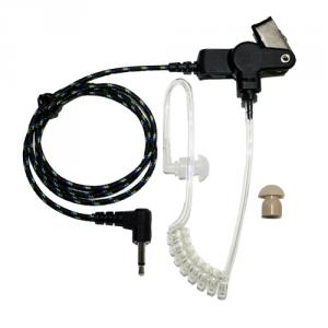 Ear tube 3,5mm, förstärkt tråd