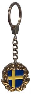 GULDPLÄTERADE Nyckelring