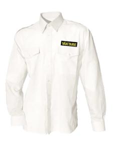 Uniformsskjorta Unisex LÄ, Vit