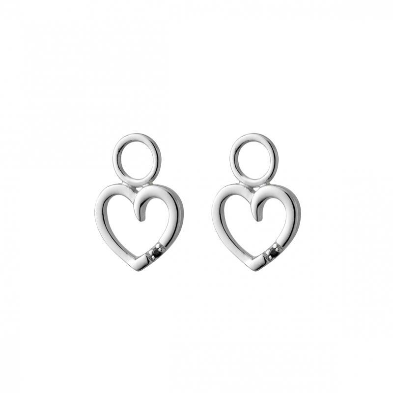 Hjärtan i silver 925