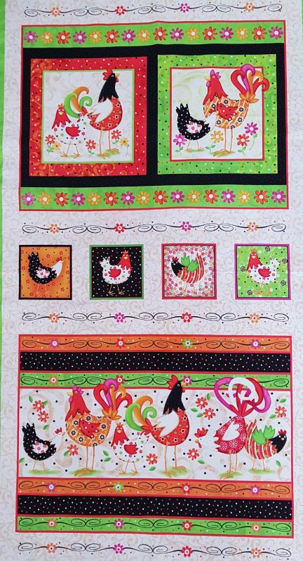 Pecking order 108kr / panel 60 cm