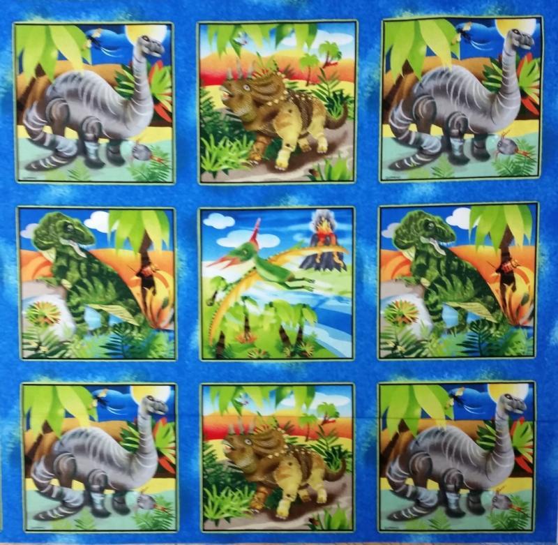 Dino Might 1 panel 60 cm