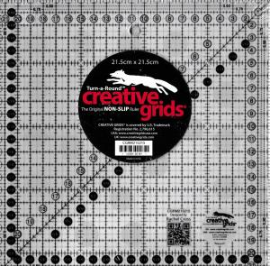 Creative linjal  21,5x21,5 cm