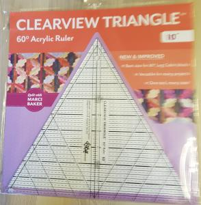 "Clearview Triangle  10""  60 grader"