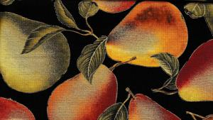 Elegant Pears Black  (220 kr/m) Nu 190 kr/m