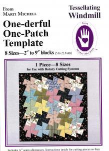 Tessellating Windmill linjal och mönster