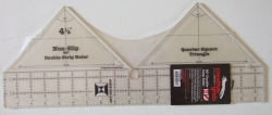 Double Strip Ruler 90 grader 4½ inch
