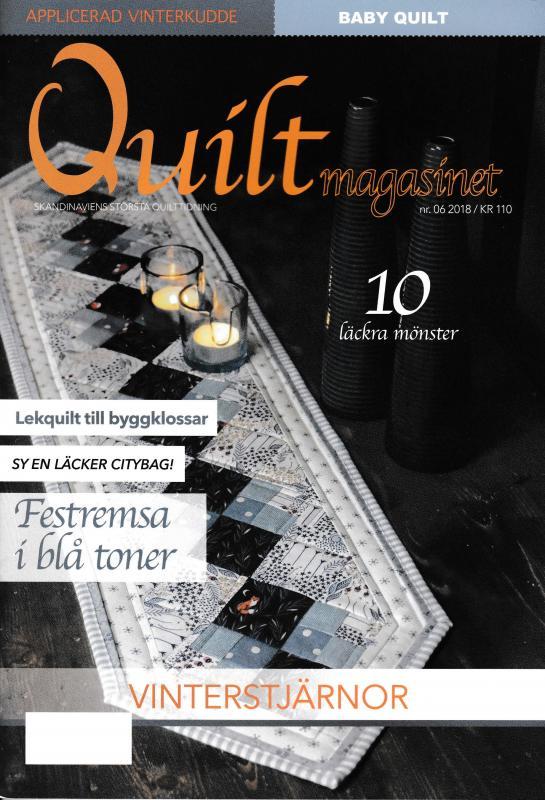 Quiltmagasinet nr 6 2018
