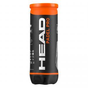 Head Pro Padel  bollar  3-pack