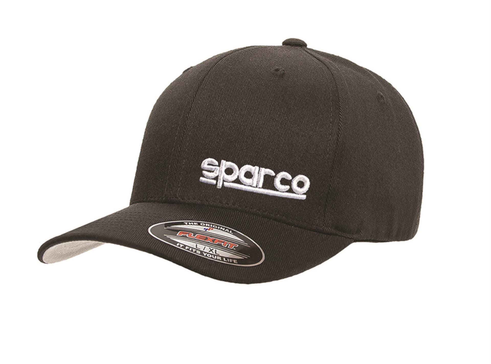 Sparco Official Racing S Icon Red FlexFit Baseball Cap Hat Size S//M SP11R