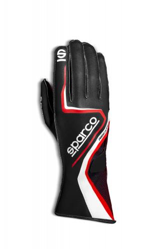 Gloves Record Black/Red