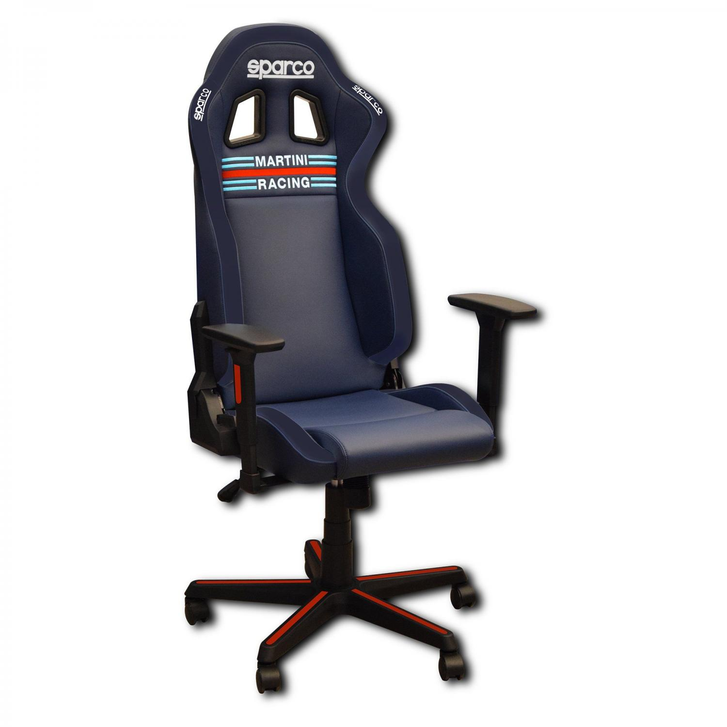 Office chair / Gaming chair Icon Sparco Martini Racing