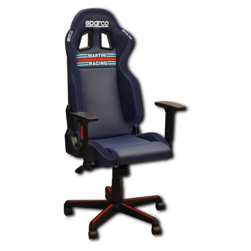 Kontorsstol/Gamingstol Icon Sparco Martini Racing