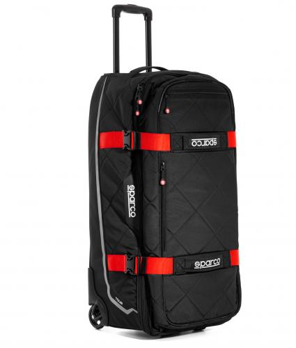 Trolley bag Sparco Tour Black Red