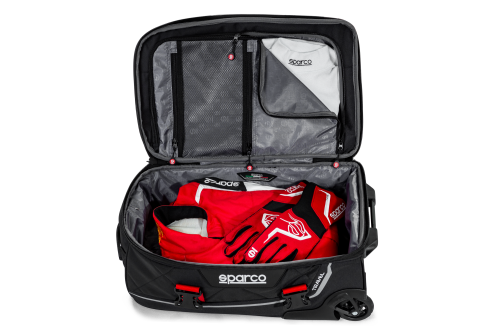 Gear Bag Sparco Travel Black Red