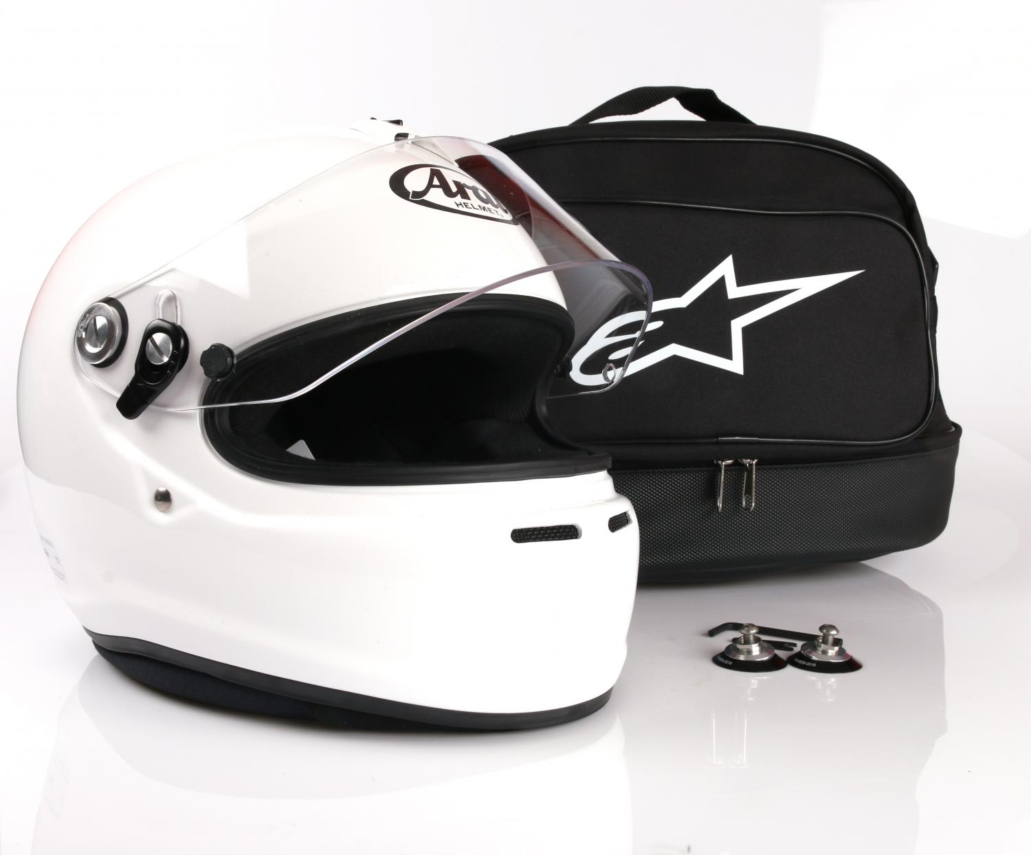 Arai GP-6S M6 package deal