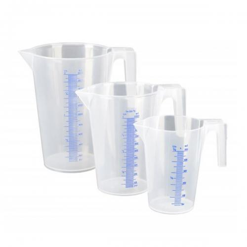 Measuring jug kit 0.5, 1, 2 liter