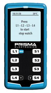 Stopwatch Prisma for 4 drivers