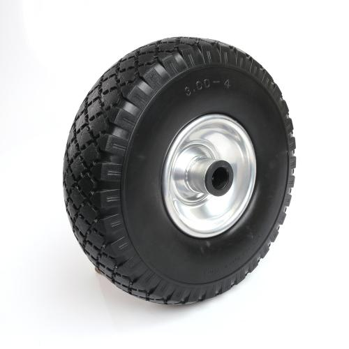 Solid Wheel For Trolley 260x85mm Black