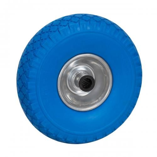 Solid Wheel For Trolley 260x85mm Blue