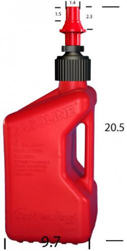Tuff Jug, Quick Fueling 20 L Red