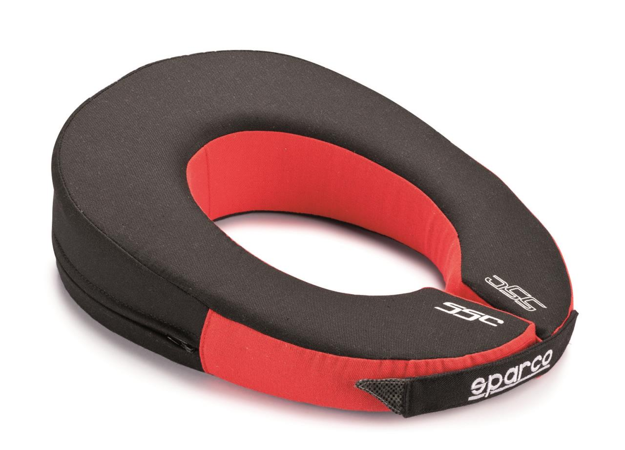 Neck Support Nomex Oval Red/Black