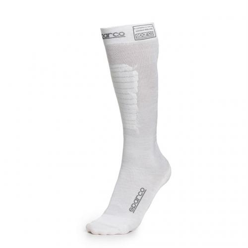 Compression Socks Long White