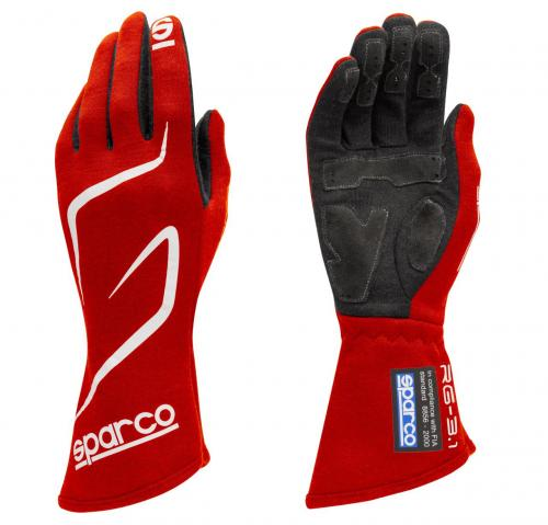 Gloves Sparco Land RG-3.1 Red