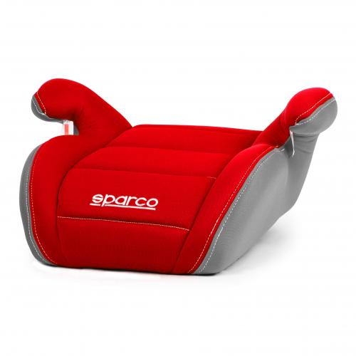 Sparco Booster Group 2+3 (3cm foam) Red/Grey