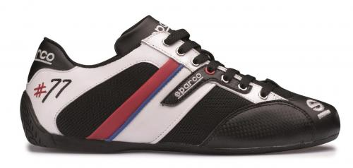 Shoes Time 77 Black/White 39