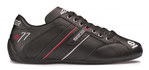 Shoes Time 77 Leather Black 39