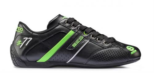 Shoes Time 77 Leather Green 39