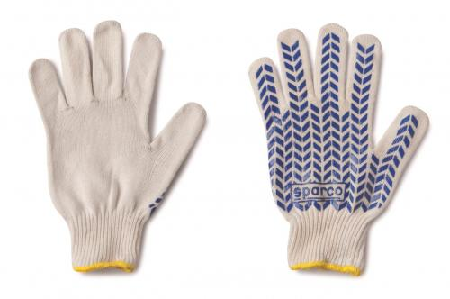 Sparco Work Gloves White