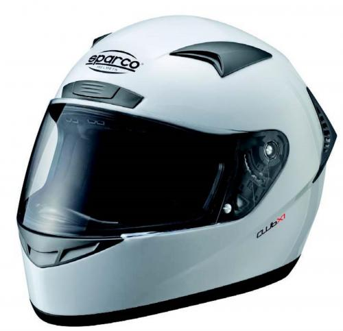 Helmet Sparco Club X-1 White